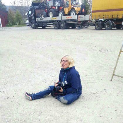 Fotografering hos kund